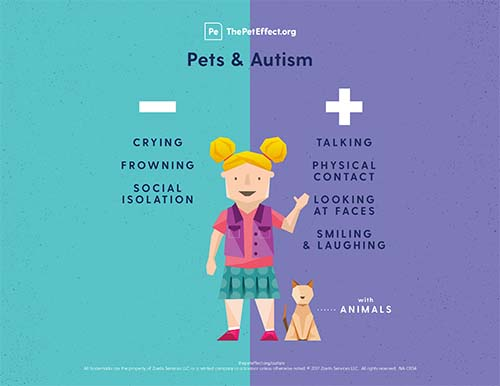 Did you know pets can improve socialization among those with autism?