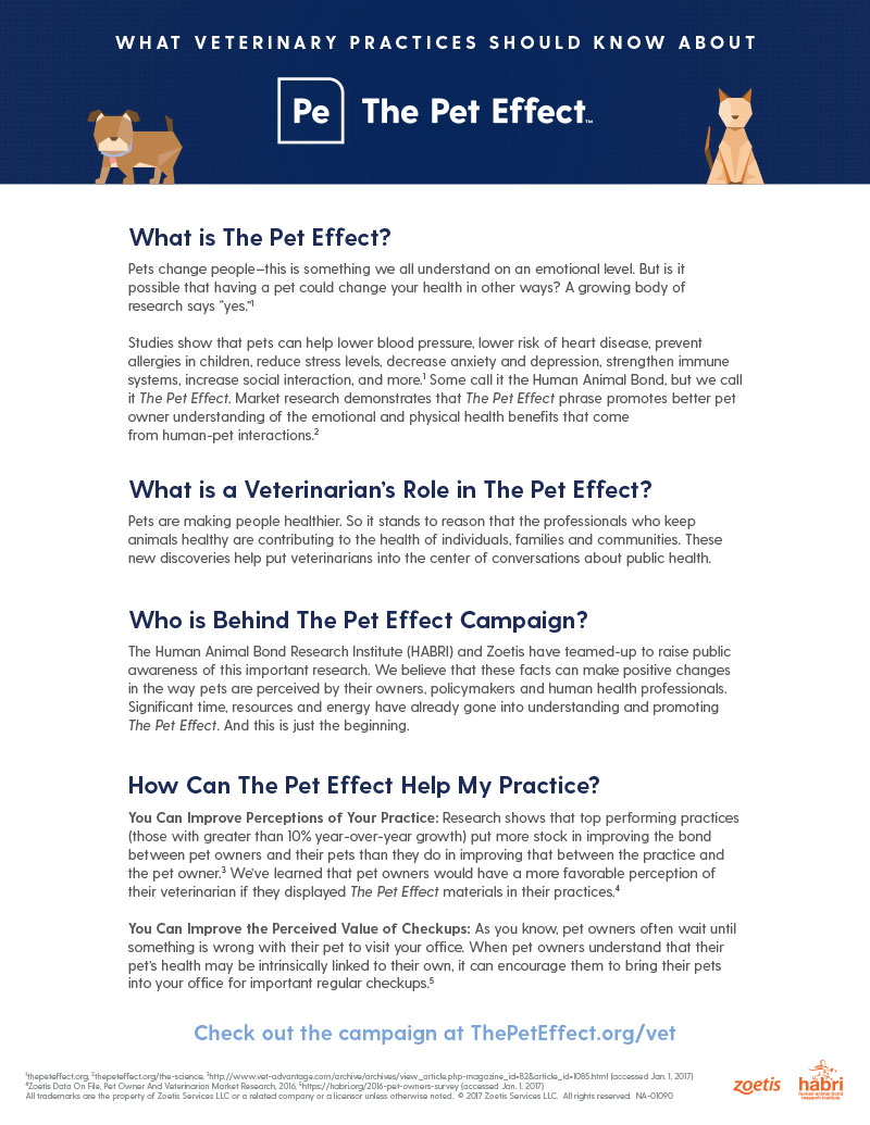 The Pet Effect Program Guide